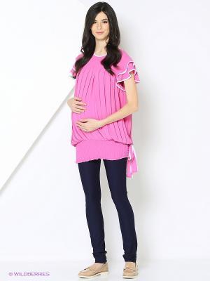 Блуза Livaa. Цвет: розовый