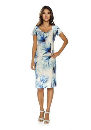 Платье Ashley Brooke. Цвет: синий/белый