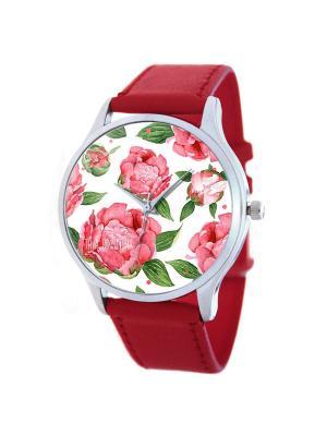 Часы Розы Tina Bolotina. Цвет: красный