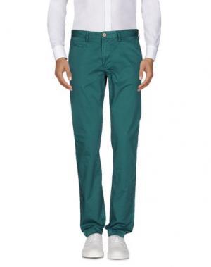 Повседневные брюки JAGGY. Цвет: цвет морской волны