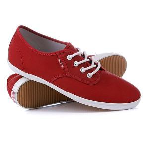 Кеды кроссовки женские  Slymz Lx Wmn Red Wax Gravis. Цвет: красный