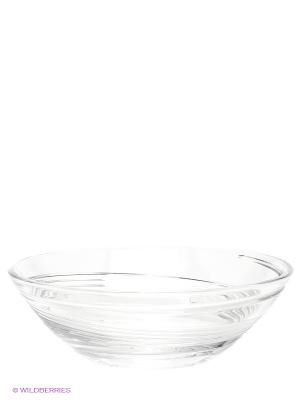 Салатницв, 27,2 см Crystal Bohemia. Цвет: прозрачный