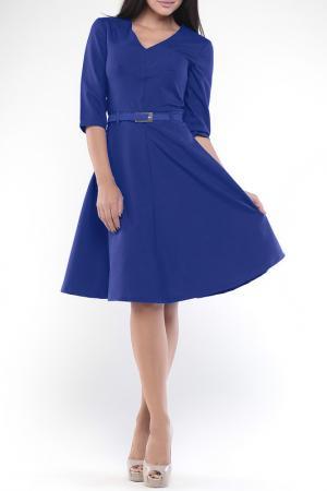 Платье REBECCA TATTI. Цвет: электрик
