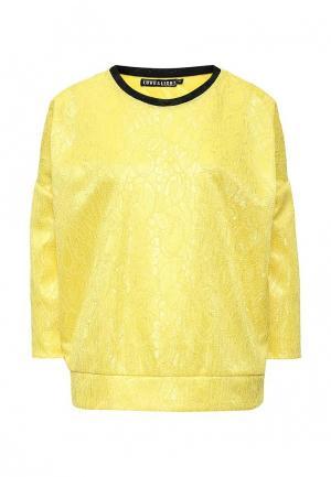 Блуза Love & Light. Цвет: желтый