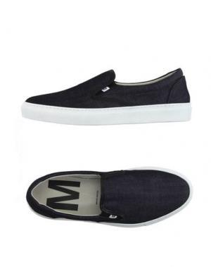 Низкие кеды и кроссовки MAURO GRIFONI. Цвет: синий
