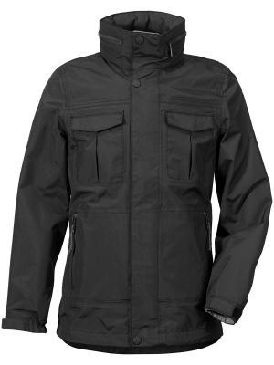 Куртка HENRI DIDRIKSONS. Цвет: черный