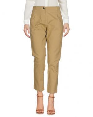 Повседневные брюки NINE:INTHE:MORNING. Цвет: песочный