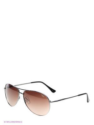 Солнцезащитные очки Legna. Цвет: серый, коричневый