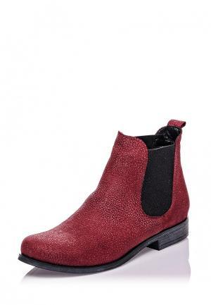 Ботинки Bueno Shoes. Цвет: красный