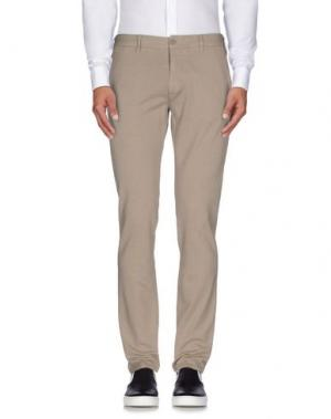 Повседневные брюки JEORDIE'S. Цвет: голубиный серый