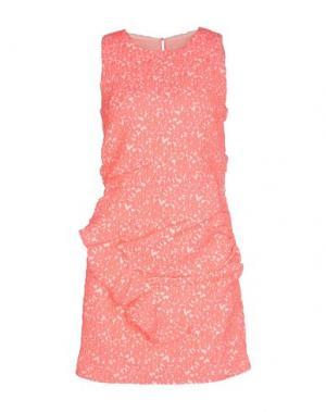 Короткое платье DRESS GALLERY. Цвет: фуксия