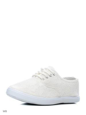 Кеды HCS. Цвет: белый