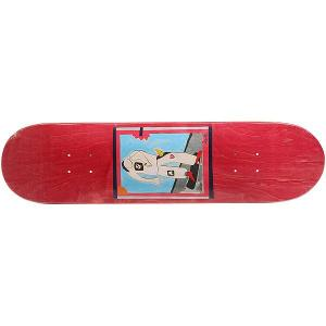 Дека для скейтборда  SSS №1 Red 32 x 8 (20.3 см) Absurd. Цвет: мультиколор,красный