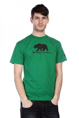 Футболка  Black Bear Kelly Green Nor Cal. Цвет: зеленый