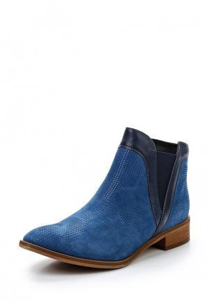 Ботинки Bosccolo. Цвет: голубой