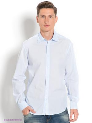 Рубашка Ruck&Maul. Цвет: голубой