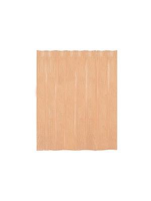 Занавеска (штора) для ванной комнаты пластиковая 178x180 см Mandarino WESS. Цвет: оранжевый