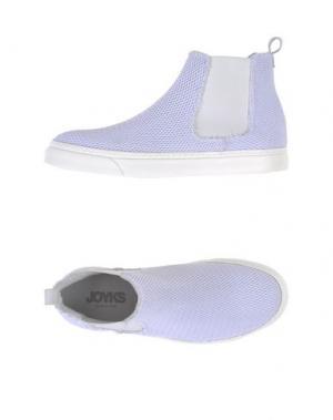 Полусапоги и высокие ботинки JOYKS. Цвет: белый