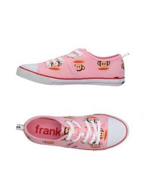 Низкие кеды и кроссовки PAUL FRANK. Цвет: розовый