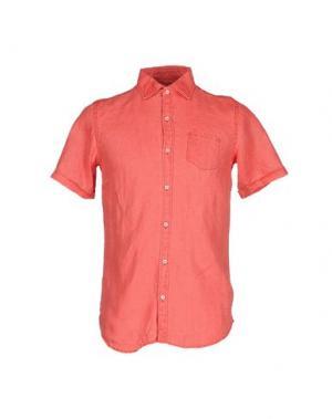 Pубашка MESSAGERIE. Цвет: коралловый