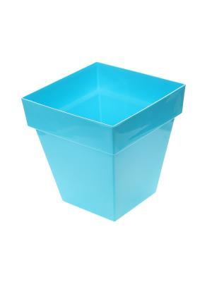 Горшок для цветов Migura. Цвет: голубой