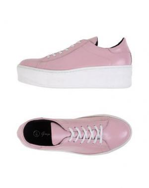 Низкие кеды и кроссовки GEORGE J. LOVE. Цвет: розовый