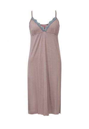 Сорочка ночная TrendyAngel. Цвет: розовый