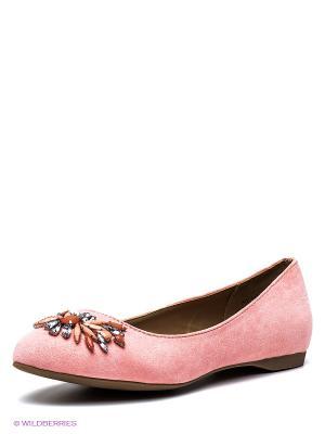 Балетки New Look. Цвет: розовый