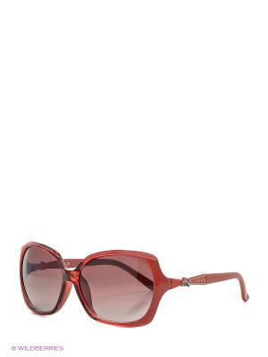 Солнцезащитные очки Vittorio Richi. Цвет: красный, коралловый