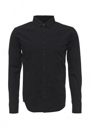 Рубашка Fresh Brand. Цвет: черный
