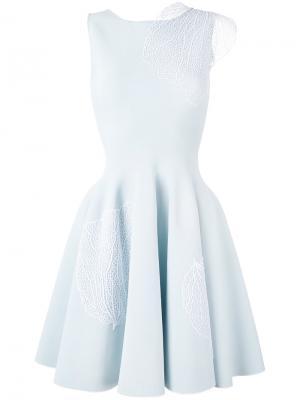 Платье А-силуэта Antonino Valenti. Цвет: синий