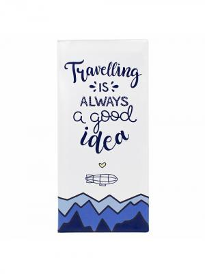 Обложка для путешествия Good idea Kawaii Factory. Цвет: белый, синий, голубой