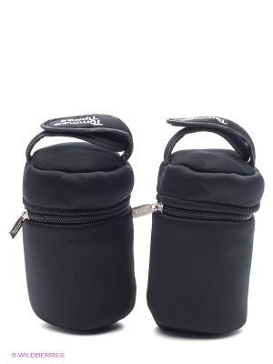 Термо-сумки для путешествий, 2 шт. в уп. TOMMEE TIPPEE. Цвет: черный