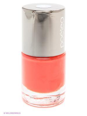 Лак для ногтей POETEA. Цвет: оранжевый