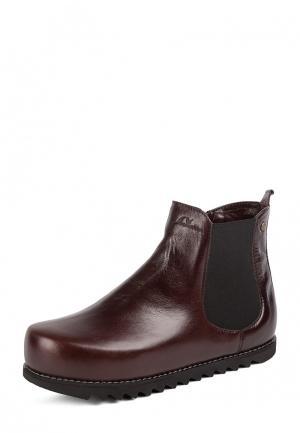 Ботинки Mamashoes. Цвет: коричневый