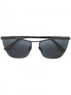 Солнцезащитные очки с оправой кошачий глаз Le Specs. Цвет: чёрный