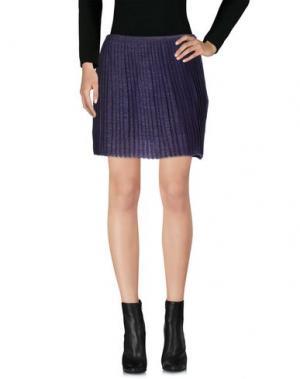 Мини-юбка SOHO DE LUXE. Цвет: фиолетовый