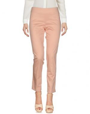 Повседневные брюки EMME by MARELLA. Цвет: розовый