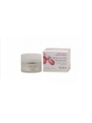 Ardes Защитный и смягчающий крем для чувствительной кожи 24 часа увлажнения.  50 мл.. Цвет: белый