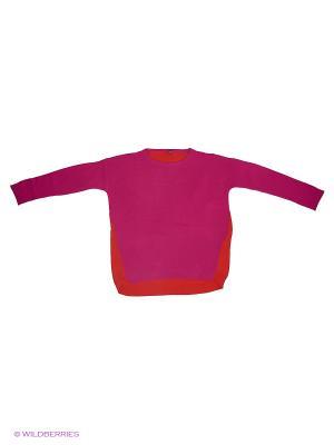 Джемпер United Colors of Benetton. Цвет: фуксия, оранжевый