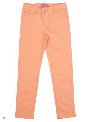 Брюки SELA. Цвет: светло-оранжевый