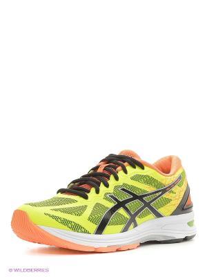 Спортивная обувь GEL-DS TRAINER 21 ASICS. Цвет: желтый, черный, оранжевый