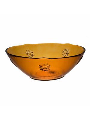 Чаша SAN MIGUEL. Цвет: оранжевый