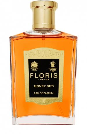 Парфюмерная вода Honey Oud Floris. Цвет: бесцветный