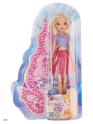 Кукла Winx Club Городская магия-2,  Stella. Цвет: малиновый