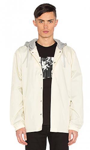 Куртка с капюшоном coaches Undefeated. Цвет: ivory