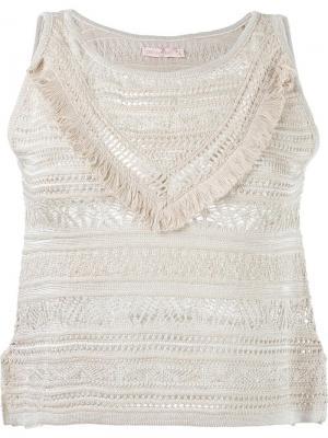 Knit top Cecilia Prado. Цвет: телесный