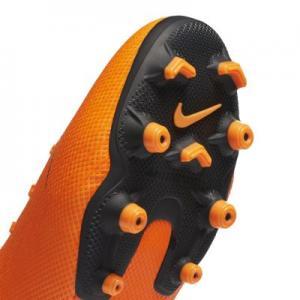 Футбольные бутсы для игры на разных покрытиях дошкольников/школьников  Jr. Mercurial Vapor XII Academy Nike. Цвет: оранжевый