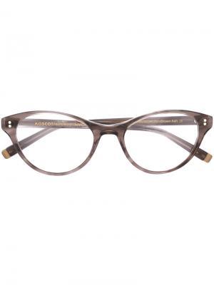 Очки Tess Moscot. Цвет: коричневый