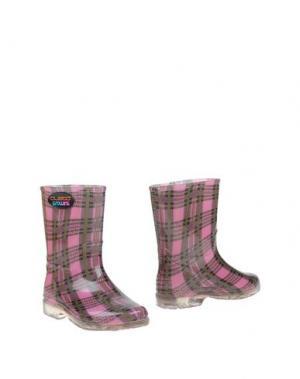 Полусапоги и высокие ботинки CUSTO GROWING. Цвет: светло-фиолетовый